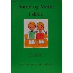 Søren og Mette i skole - Vi læser