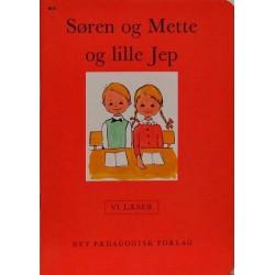 Søren og Mette og lille Jep - Vi læser