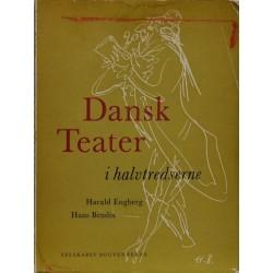 Dansk teater i halvtredserne