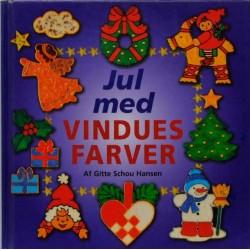 Jul med vinduesfarver