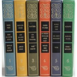 Berømte Klassikere for unge læsere. Bind 1-6.