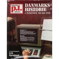 Danmarks historie i avisform år 885-1978