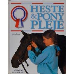 Heste og pony pleje