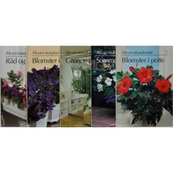 Alt om stueplanter. 32 bind.